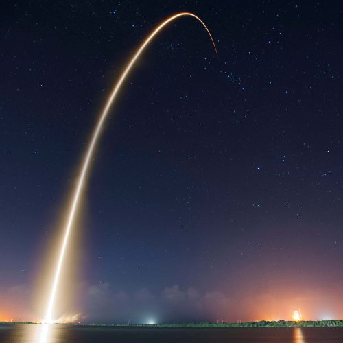A good name, in this case, SpaceX, lets you shoot off while your competition is still tying their laces.